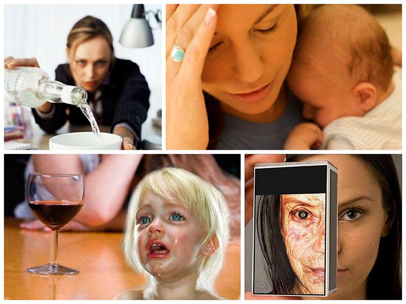 последствия алкоголизма женщин